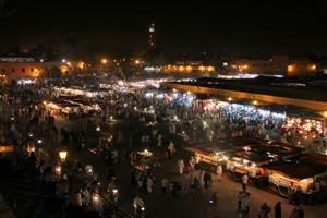 Piazza degli impiccati by night