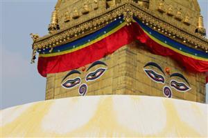 Swayambhunath - Stupa