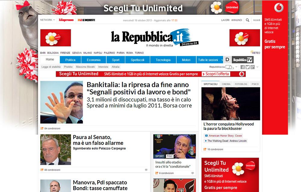 Quant brutto il sito di repubblica vidrar vel til for Sito repubblica