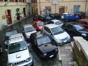 Esempio di parcheggio creativo