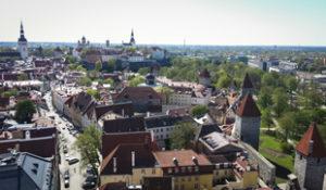 Tallin vista dal campanile