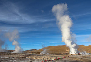 Il geyser di El Tatio