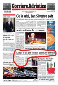 Corriere Adriatico del 28.12.11