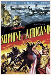 La locandina di uno degli ultimi show di Scipione l'Africano
