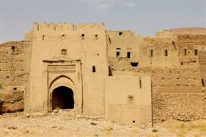 Una kasbah abbandonata