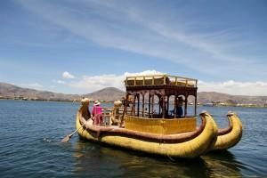 Lago Titicaca - Imbarcazione tipica