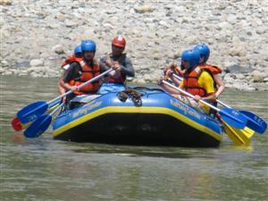 rafting sul Trisuli