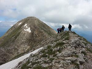 Monte Redentore 2.448 m.