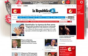 www.repubblica.it nuovo stile