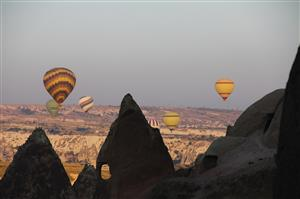 Kizilvadi - Le mongolfiere della mattina