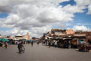 Marrakech - Piazza Jemaa el-Fnaa
