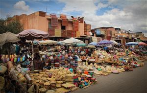 Marrakech - Tra le vie del souk