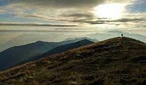 Panorama dal Monte Galbiga