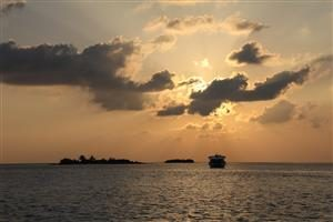 Tramonto maldiviano