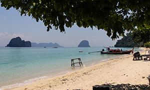 La spiaggia di Ko