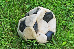 vecchio-pallone-da-calcio-sgonfio