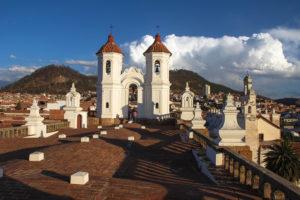 Sopra i tetti del monastero di San Filippo Neri - Sucre