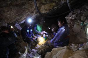 Pausa caffè per i minatori di Potosì