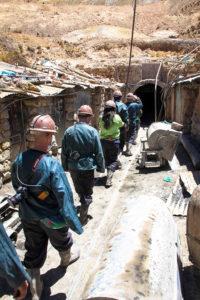Andiam andiam... andiam a lavorar alle miniere del Cerro Rico
