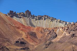 La cima del Vulcano Tunupa